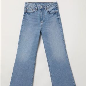 H&M HIGH WAIST WIDE JEANS